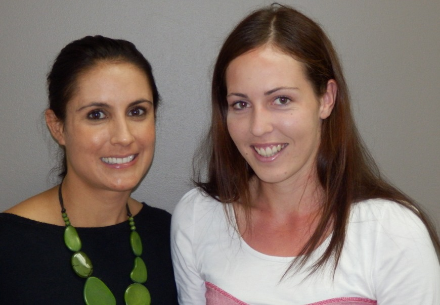 Dr Kate Barker and adult patient smile after teeth straightening by ethos orthodontics