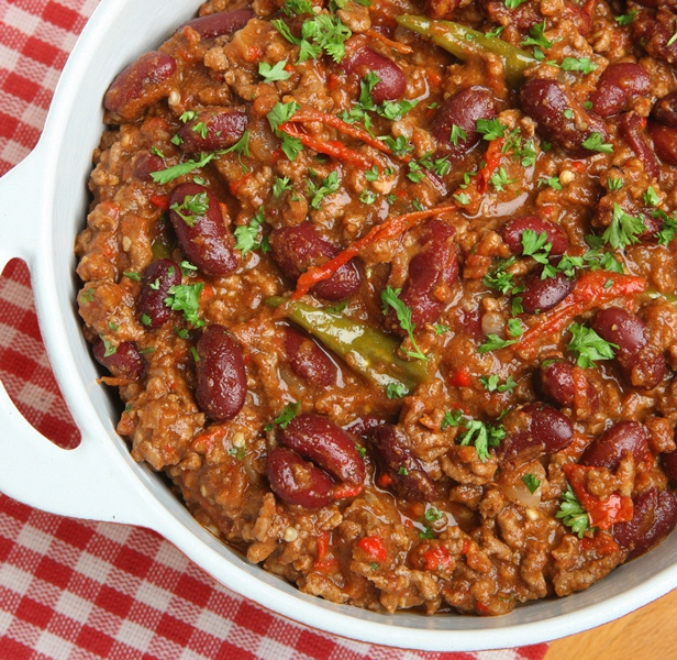 Mexican Beef Chili Dish