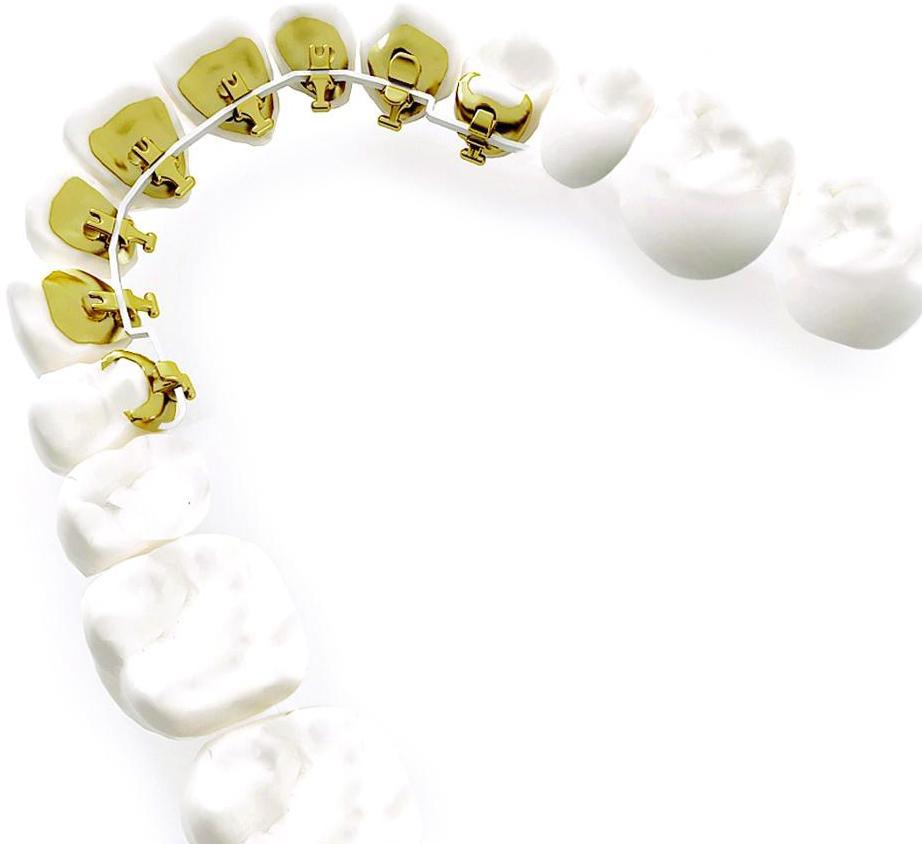 Incognito braces on a white background