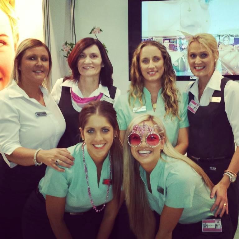 ethos team at QLD Brides, Wedding & Honeymoon Expo 2013